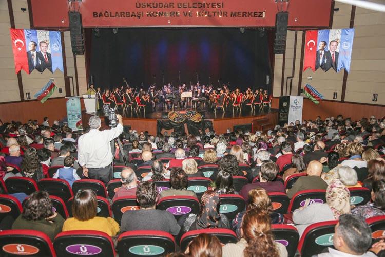 Beykoz Belediyesi'nden, Azerbaycan dostluk konseri