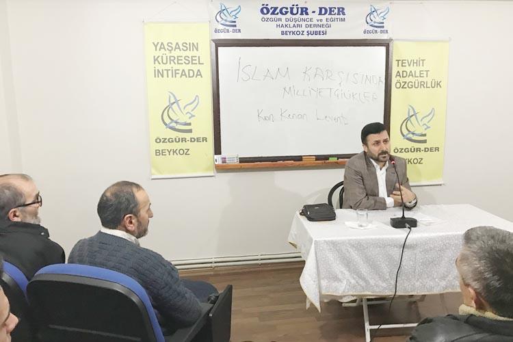 Özgür-DER, İslam karşısında milliyetçilikler