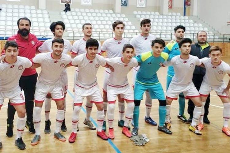 Meral-Celal Aras Spor Lisesi Futsal şovu