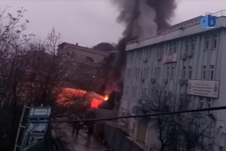 Beykoz'da tüp patlaması sonucu yangın