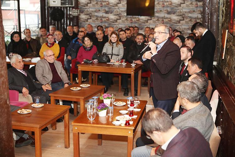 Murat Aydın Beykoz'da Giresunlularla buluştu