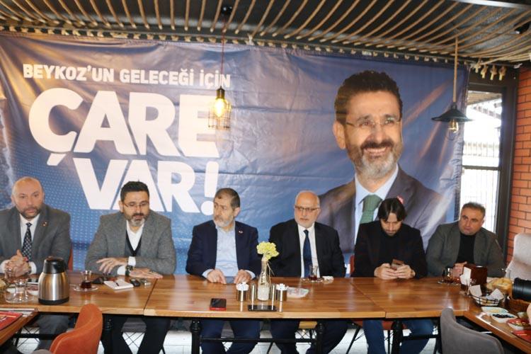SP Beykoz'da ilk seçim programını yaptı