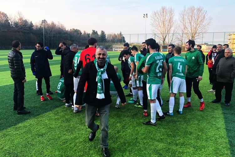 Kavacıkspor şampiyonluğunu erken kutladı