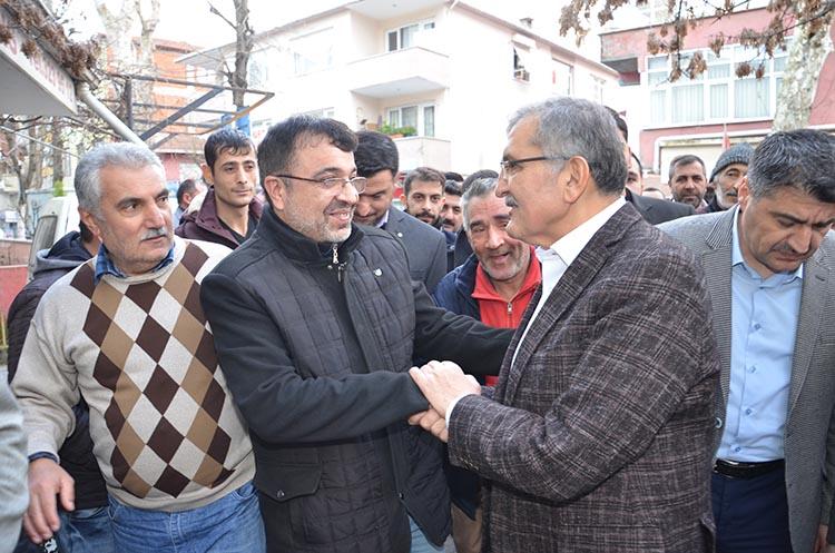 Murat Aydın'a Beykoz Tokatköy'de yoğun ilgi