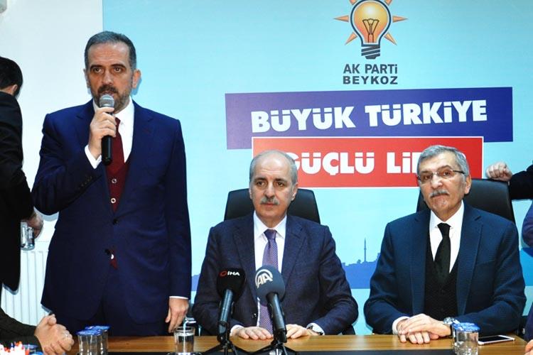 Beykoz İlçe Başkanı Hanefi Dilmaç söz verdi