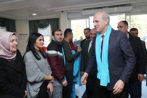 Numan Kurtulmuş Beykoz STK'larından destek istedi