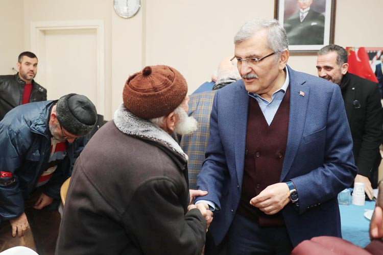 Çavuşbaşı'nda Murat Aydın'a sıcak karşılama