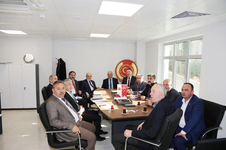 Beykoz Muhtarlarına Belediyede oda tahsisi