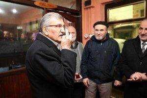 Murat Aydın Gümüşsuyu'nda esnaf ziyareti yaptı