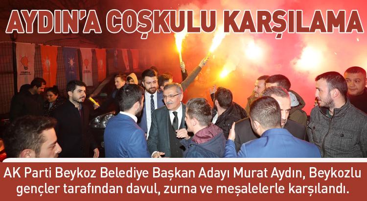 AK Parti Beykoz Gençliği Murat Aydın'ı ağırladı