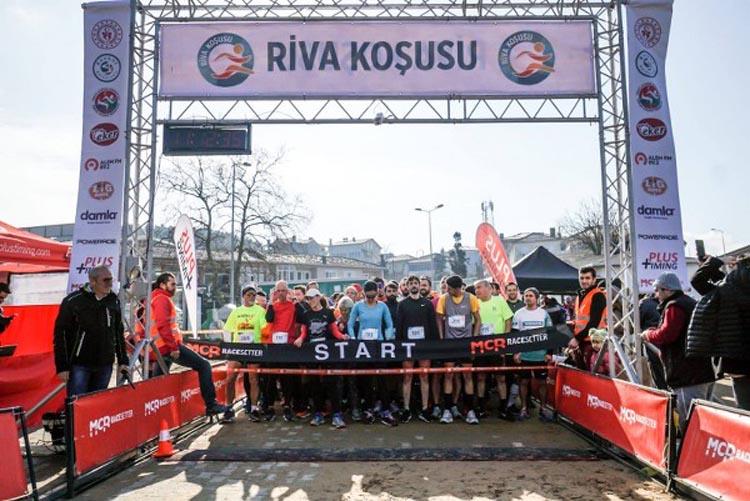 Beykoz'da Riva Koşusu'na bin kişi katıldı