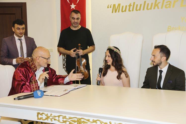 Beykoz'da 14 Şubat'a özel nikahlar