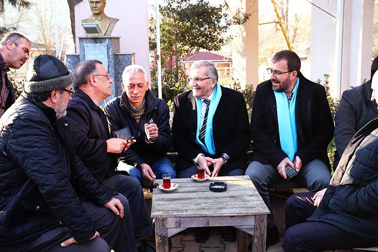 Murat Aydın Beykoz'da CHP'lilerin peşinde