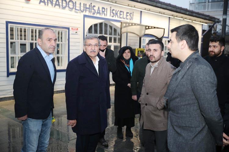 Murat Aydın Anadoluhisarı'nı neşelendirdi