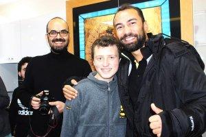 Beykoz Belediyspor'dan en özel okula ziyaret