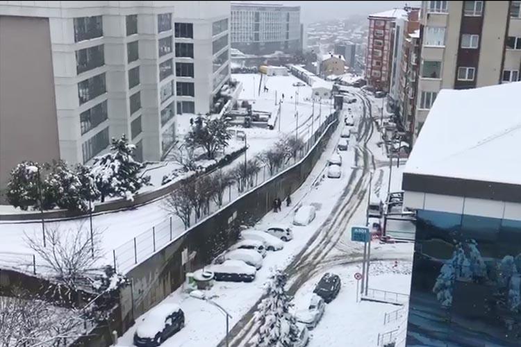 Beykoz'da kar muhalefeti ve sakin bir gün