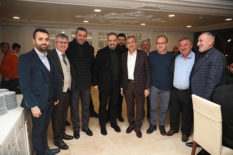 Murat Aydın Beykoz'da ekibi topladı