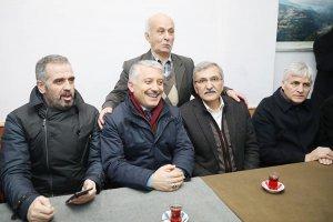 Murat Aydın Beykoz'da dernekleri ziyaret ediyor