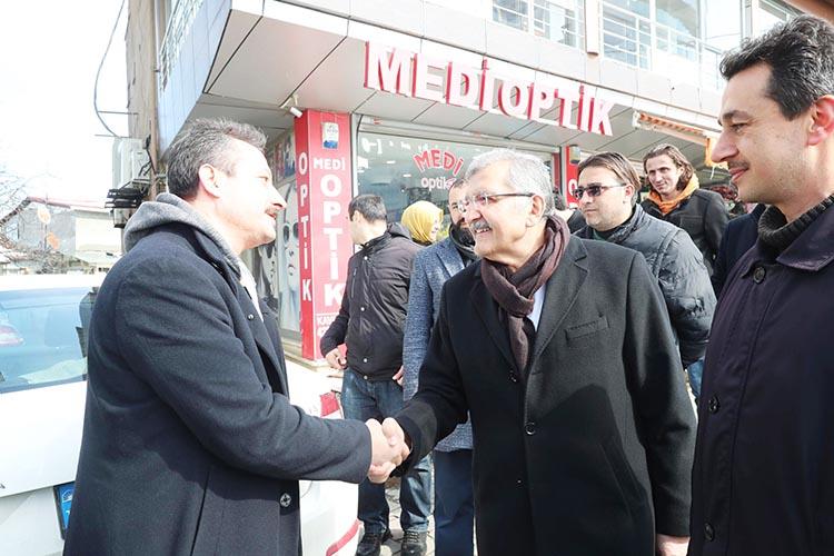 Beykoz Rüzgarlıbahçe'den Murat Aydın'a tam destek