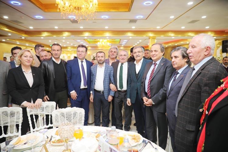 Murat Aydın Mesudiye gecesinde katıldı