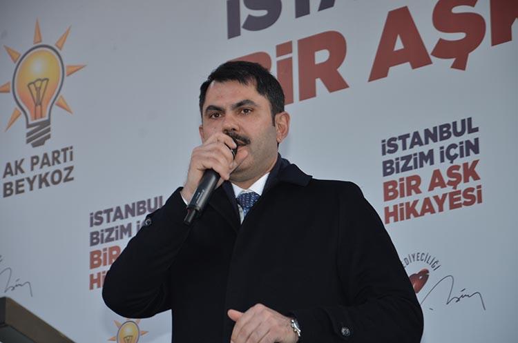 Çevre Bakanı Beykoz'da önemli açıklamalar yaptı