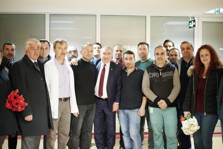 CHP Beykoz Adayı'ndan Tıp Bayramı ziyareti