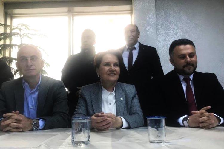 Meral Akşener Beykoz Doğu Karadenizliler Derneği'nde