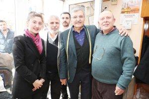 Murat Aydın Tokatköy'de esnafı ziyaret etti