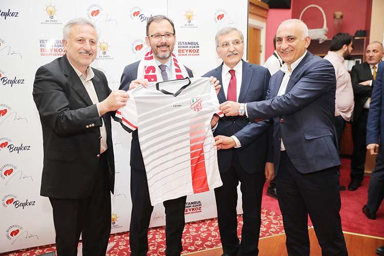 Beykoz kulüplerine Bakanlıktan maddi destek