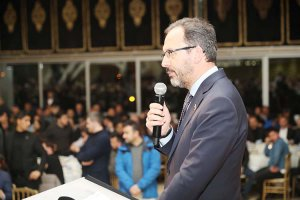 Spor Bakanı Beykoz'da camiayı fethetti