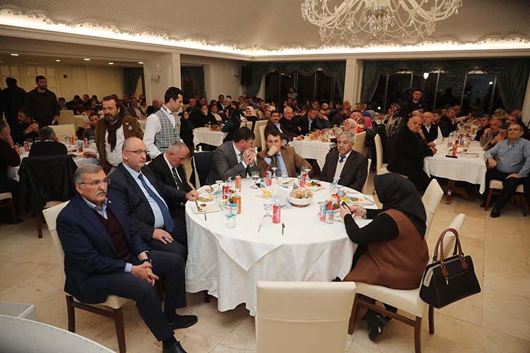 Beykoz İl Dernekleri AK Parti adayını ağırladı
