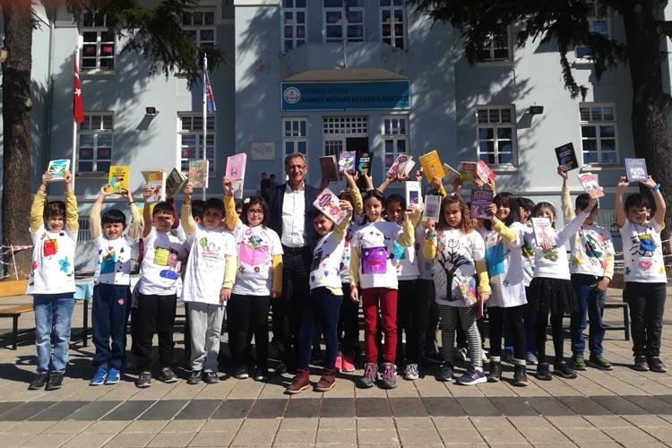 Beykoz'da kütüphaneler haftası mutluluk saçıyor