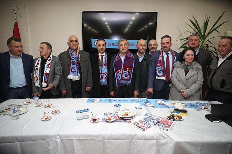Beykoz Trabzonlulardan Aydın'a coşkulu karşılama