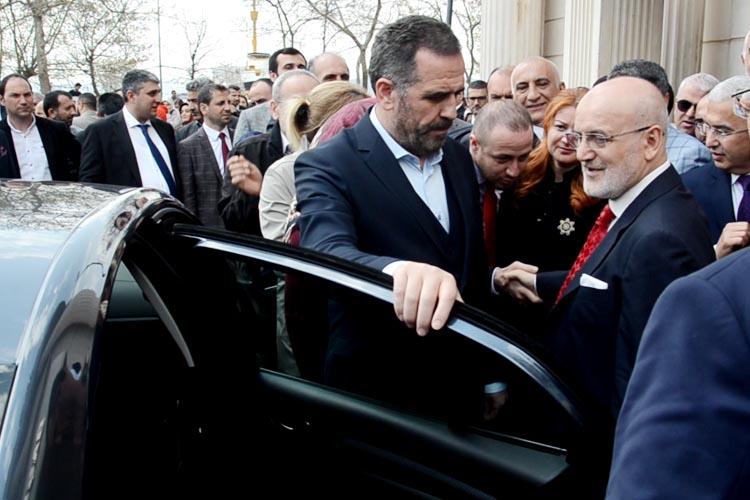 Beykoz Belediyesi'ne alkışlarla veda etti