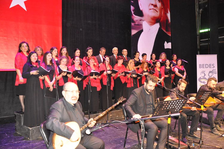 BEDES Korosu'ndan Beykoz'a bahar konseri