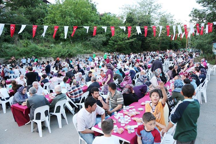 Beykoz'da Ramazan 2019 ve sokak iftarları programı