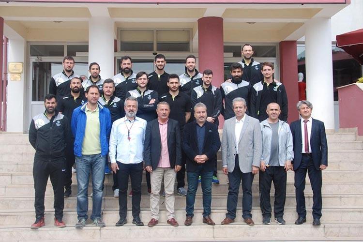 Beykoz Belediyespor'dan Spor Lisesi'ne ziyaret