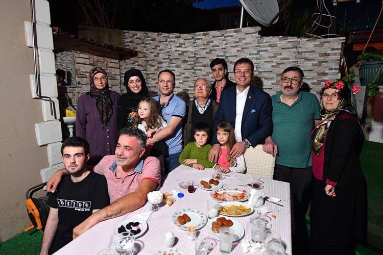 CHP'nin İBB Adayı iftarda da Beykoz'daydı