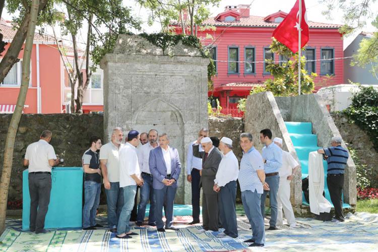 Beykoz'un tarihi Namazgahı yeniden açıldı