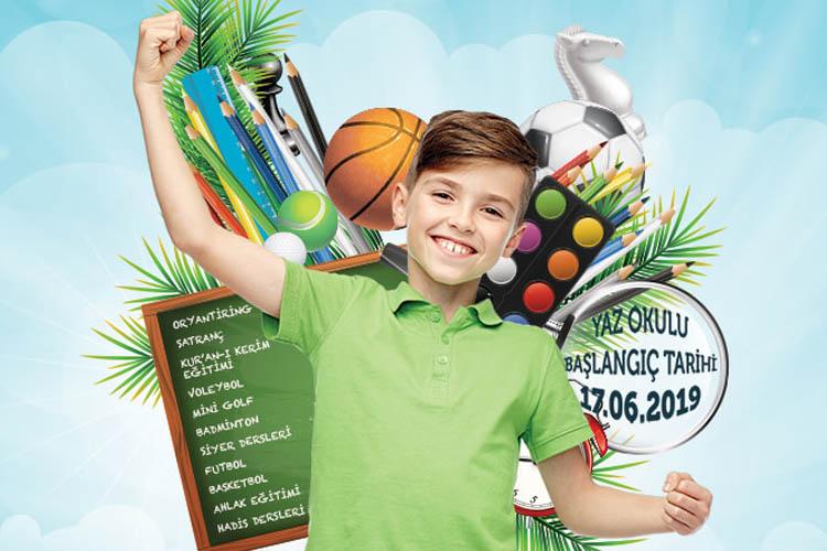 TÜGVA Beykoz'da gençleri yaz ayında eğlendirecek