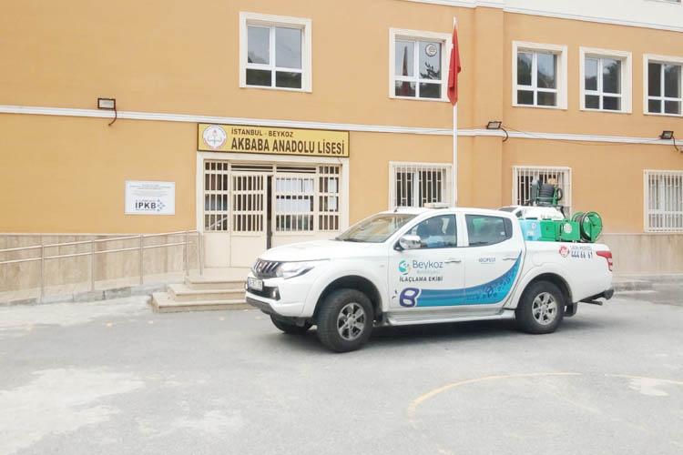 Beykoz Belediyesi, bayramda da görev başında