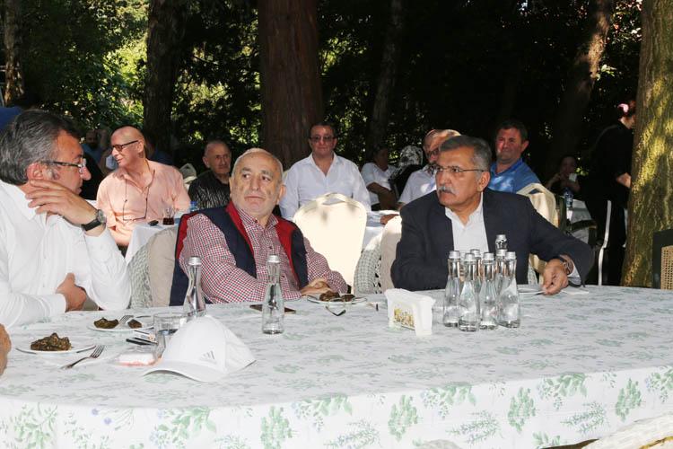 Murat Aydın'dan Acar'a taziye ziyareti