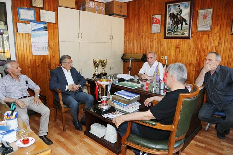 Murat Aydın'dan Çubukluspor'a ziyaret
