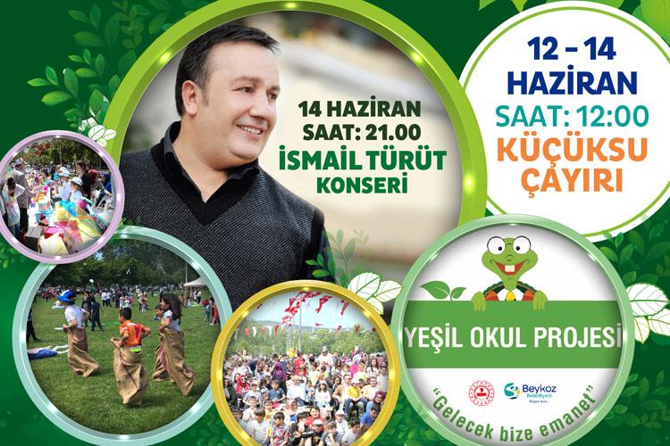 Beykoz Küçüksu Çayırı'nda 'Çevre Festivali'