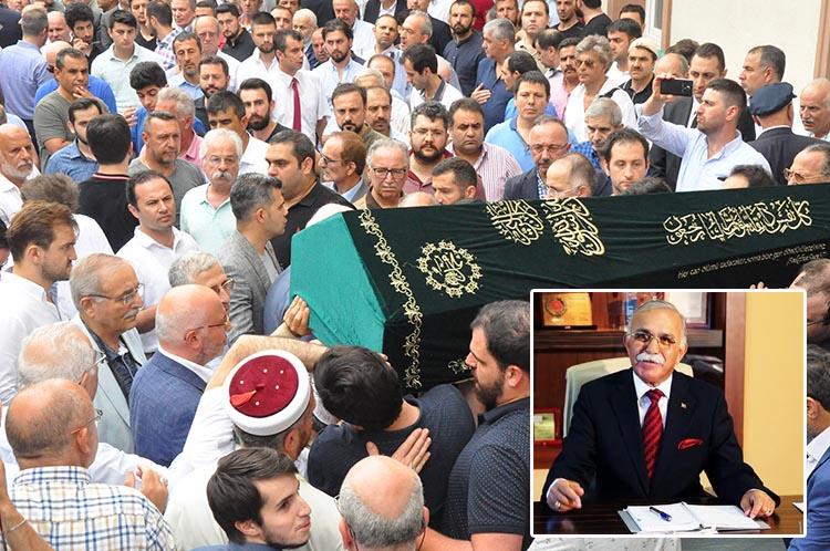 Hacı Şeref Yıldız Beykoz'da ebediyete uğurlandı