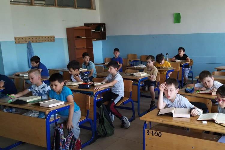 TÜGVA Beykoz kampı hızla devam ediyor