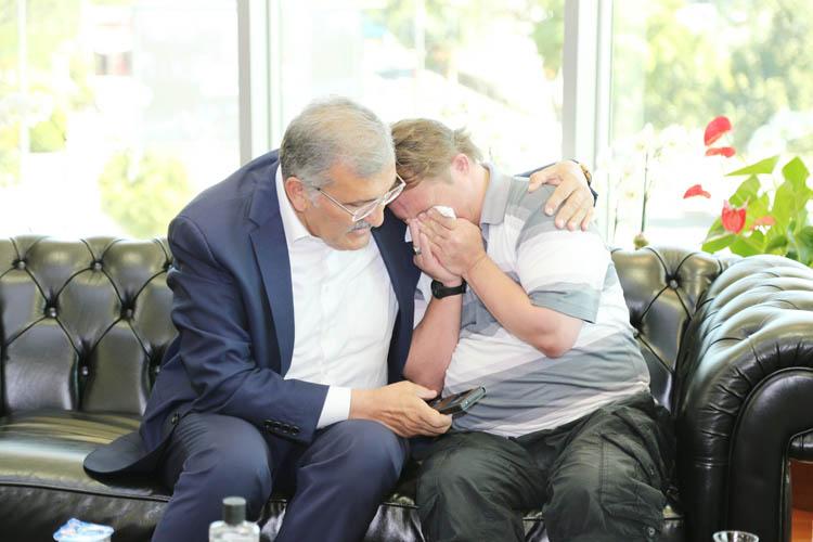 İbo, Başkan Aydın ile Beykoz'da buluştu