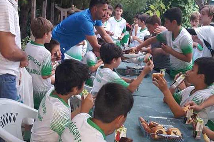 Gümüşsuyuspor'da aile ortamı motivasyonu