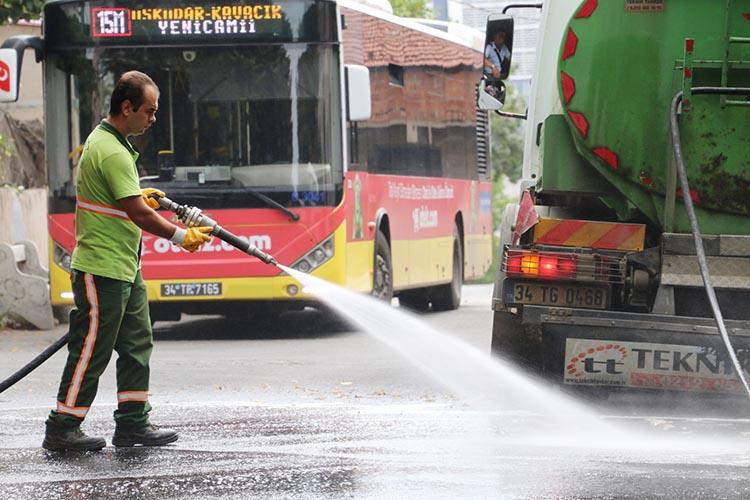 Beykoz'da hummalı bir temizlik var