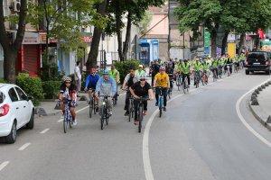 Beykoz'da bisikletli yaşam yoğun ilgi gördü